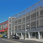 Parking Structure with new Retail Storefront street facade