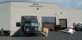 View of New Loading Dock