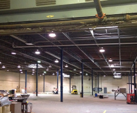 Warehouse ready for renovation and fit-out