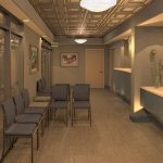 Rendering of a proposed suite lobby