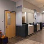 Lobby and Reception Desk